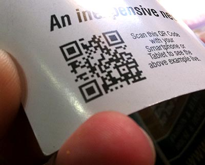QR Codes are everywhere. Get on board now with your very own Quick Response Code!